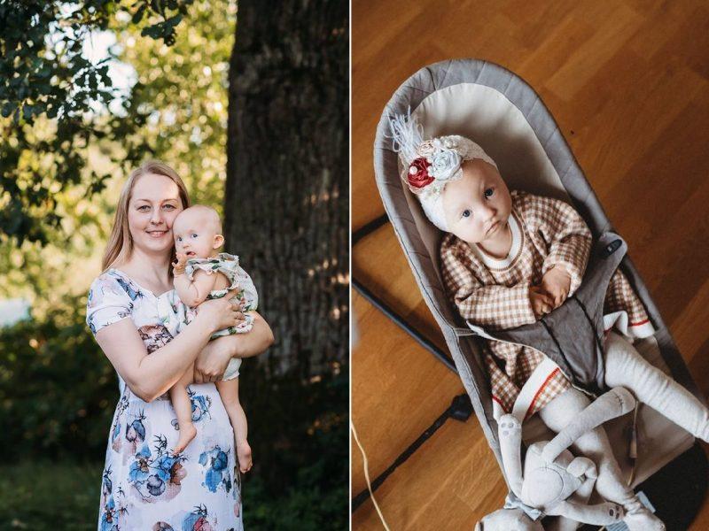 Sergančios mergytės mama stoja į kovą už savo ir kitų šeimų gyvenimą