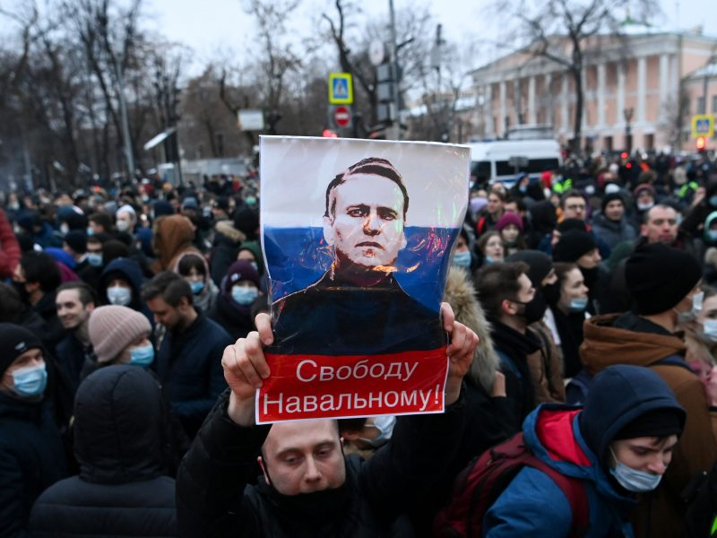 Rusija apkaltino JAV diplomatus paskelbus protestų maršrutus