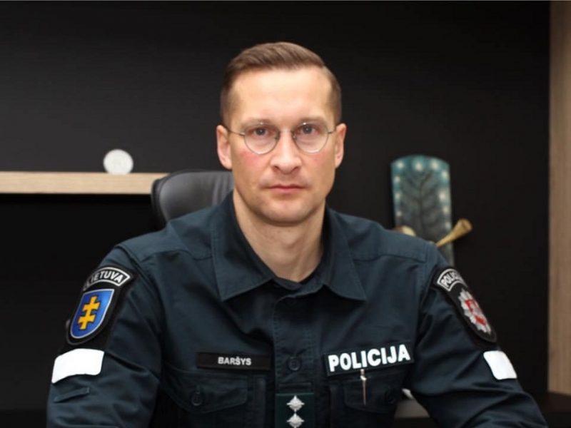 Kauno policija turi naują vadovą