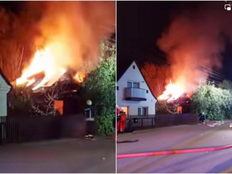 Daugiau detalių apie tragediją Vilijampolėje: ugnies grobis – du žmonės
