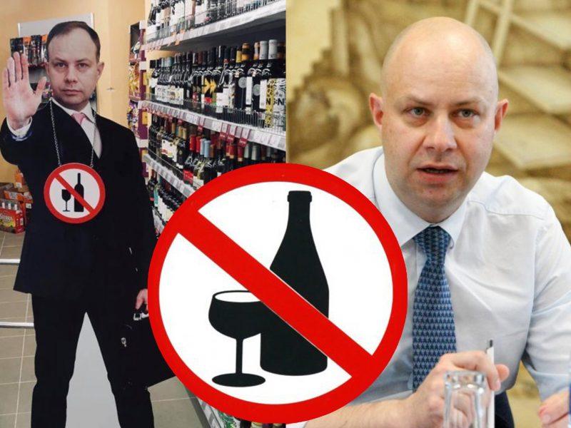 Rengiami prekybos alkoholiu ribojimų atlaisvinimai stebina A. Verygą: tai pataikavimas rinkėjams