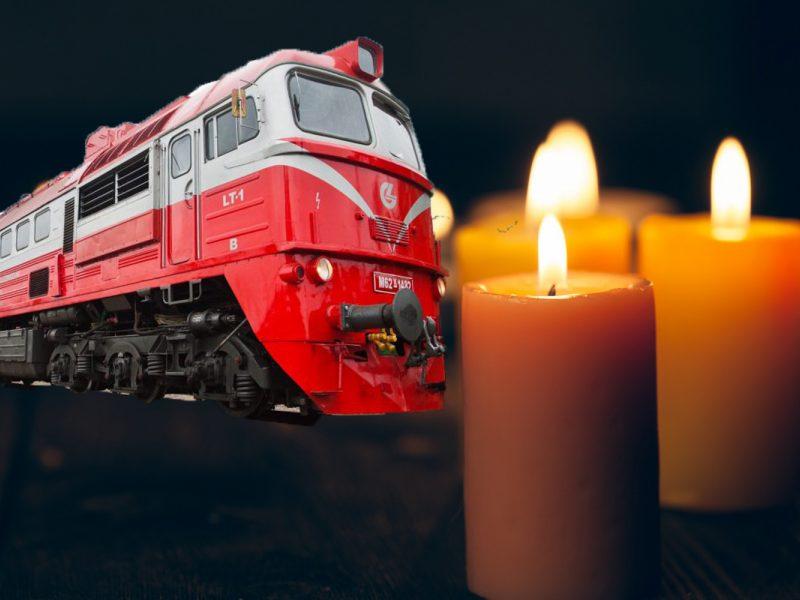 Tragedija Neveronyse: šilumvežis mirtinai sužalojo bėgiais ėjusią moterį