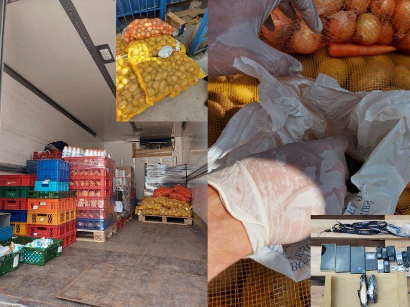 Su maisto produktais į pataisos namus bandyta įvežti dopingo