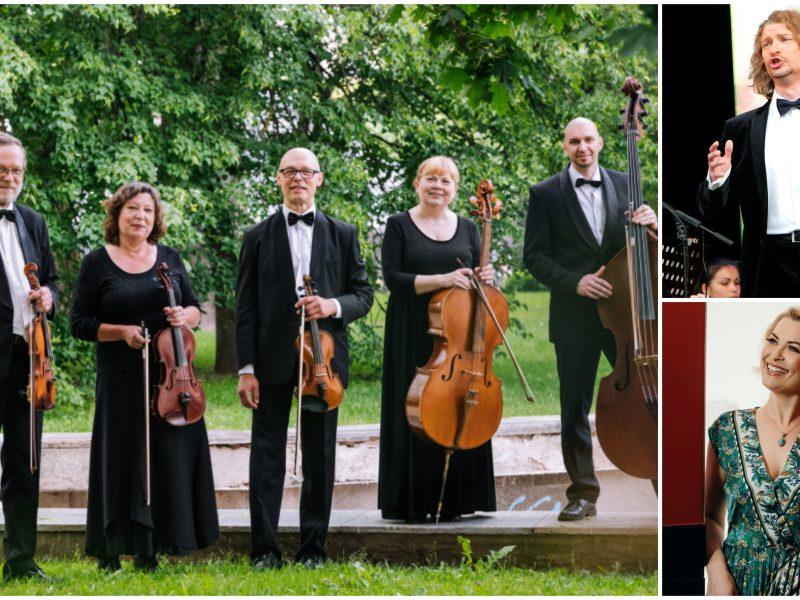 Subtiliai – operų ir operečių arijos su styginių kvintetu