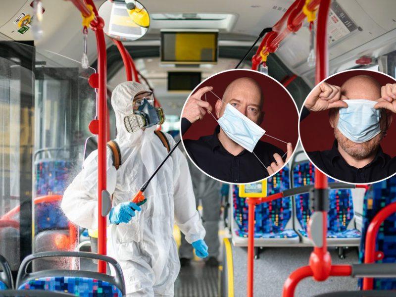 Kauno viešojo transporto keleivius terorizuoja antivakseris?