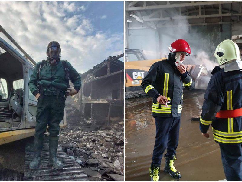 Alytaus meras pyksta: tarnybos klausia, ar yra leidimai vežti maistą ugniagesiams