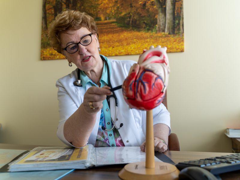 Kardiologė: stresas – svarbiausias ligų paūmėjimo faktorius
