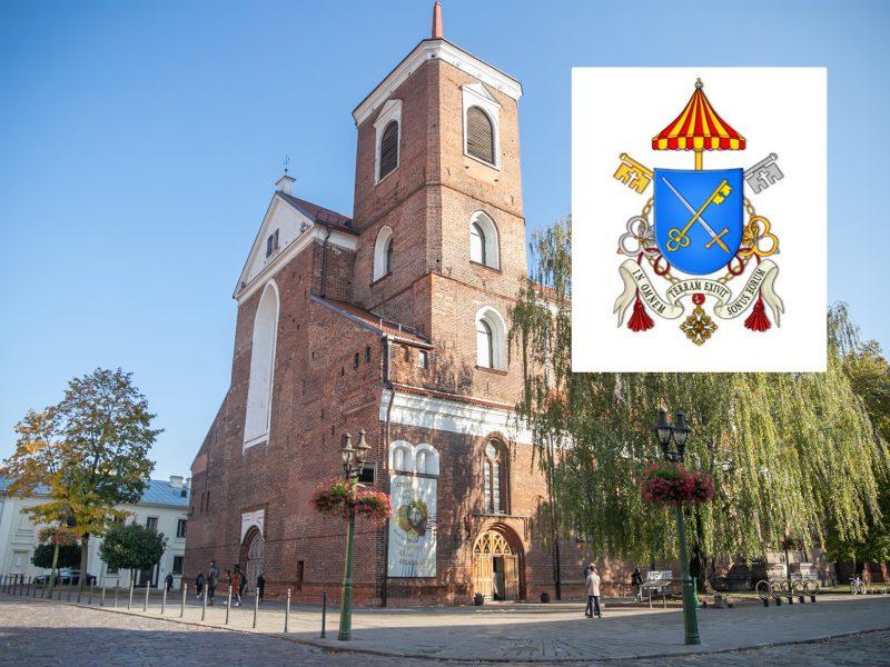 Katedra turės savo herbą