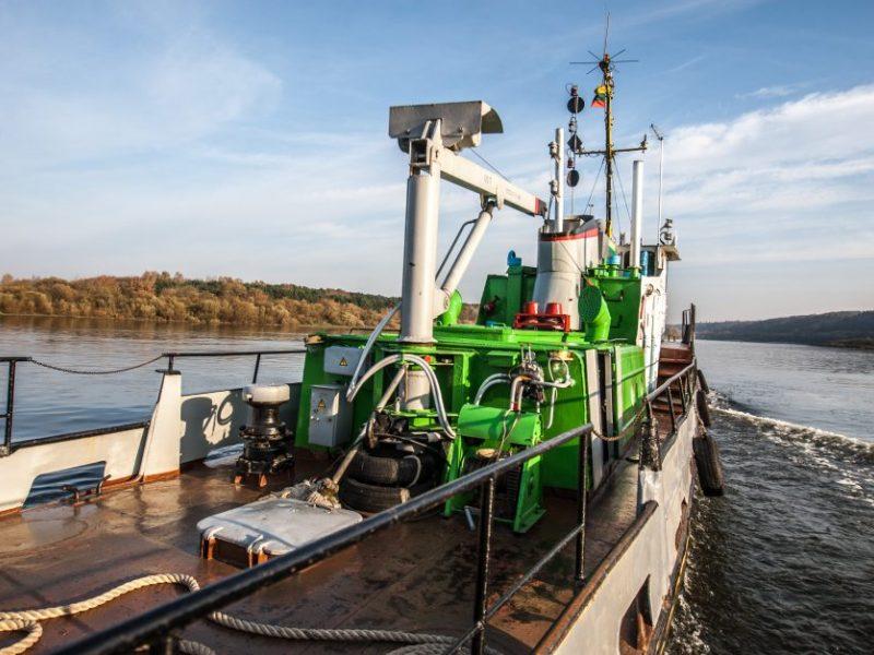 Vargu ar Kaunas taps upių-jūros uostu