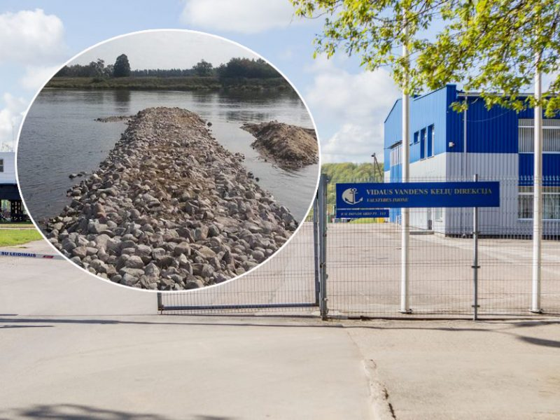 Vidaus vandens kelių direkcija operatyviai sureagavo dėl abejonių