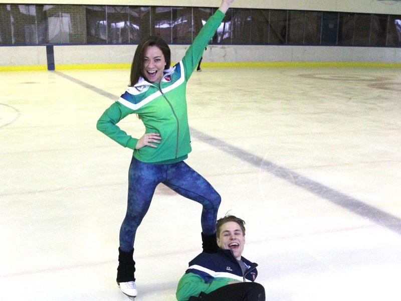 Ledo šokėjai tikisi išvengti klaidų