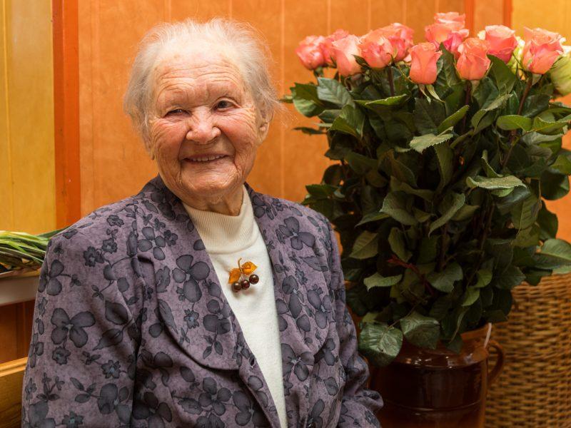 105 metai be pykčio širdyje: unikalų jubiliejų mininčios Marijos istorija