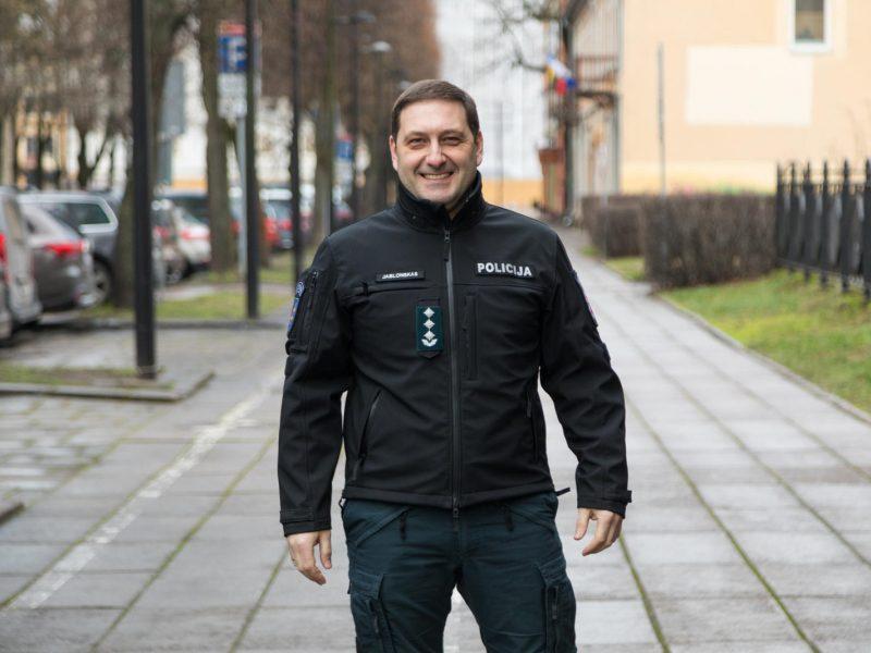 Laikinasis pareigūnų vadas E. Jablonskas: Kaune viskas gerai, jis keičiasi