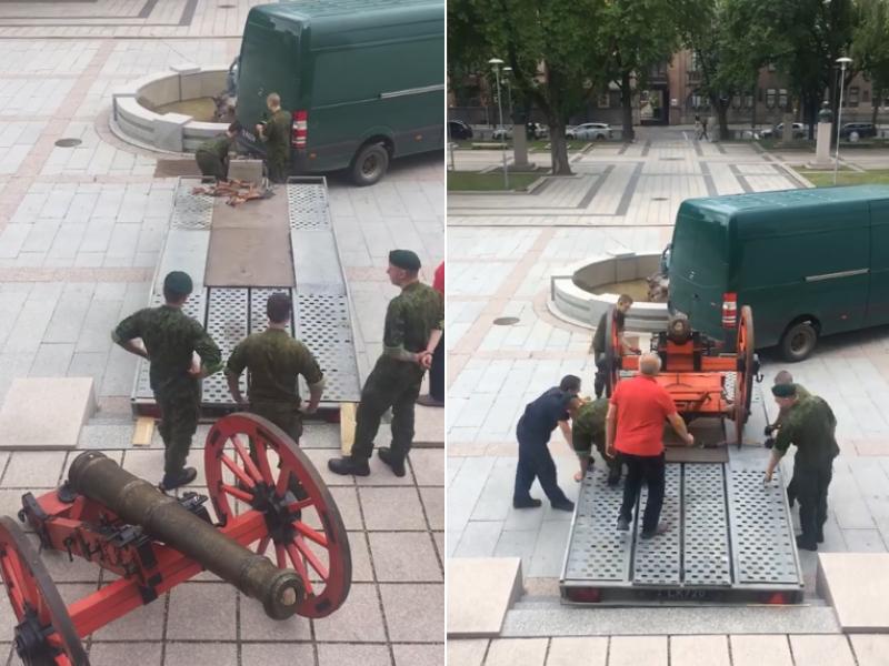 Į prezidento inauguracijos iškilmes – artilerija iš Kauno