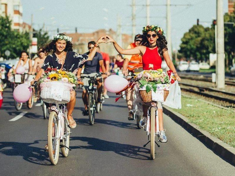 Dainavos parke – sijonuotų dviračių festivalis