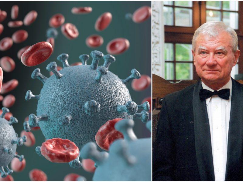 Infektologas: neaišku, ar nekils antroji koronaviruso banga <span style=color:red;>(interviu)</span>
