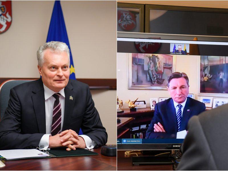 G. Nausėda: būtina sudaryti vienodas sąlygas gauti paramą iš Europos atsigavimo fondo