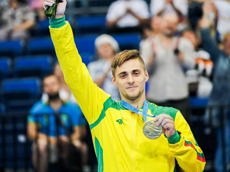 Gimnastas R. Tvorogalas – Europos žaidynių čempionas! <span style=color:red;>(sportininko komentaras)</span>