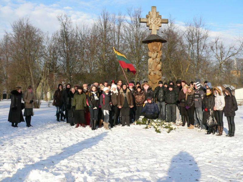 Sausio 13-osios minėjimas Kauno rajone prasideda renginiu Vandžiogaloje