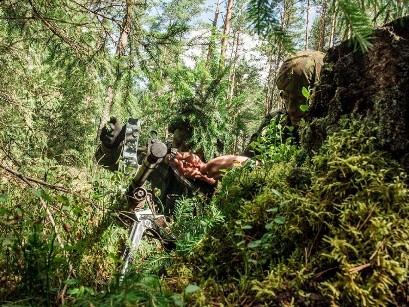 Motorizuotoje pėstininkų brigadoje karinius įgūdžius atnaujino apie 350 rezervo karių