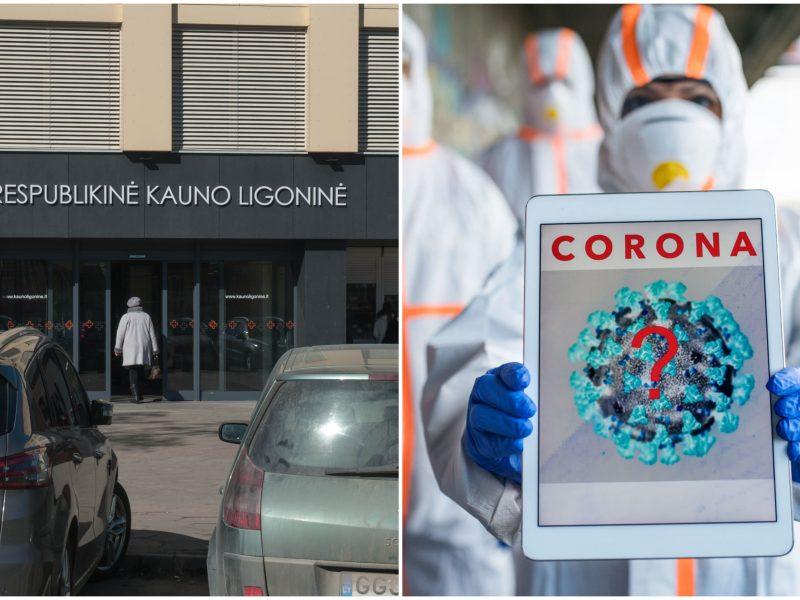 Respublikinėje Kauno ligoninėje plinta koronavirusas: iš viso serga keturi pacientai