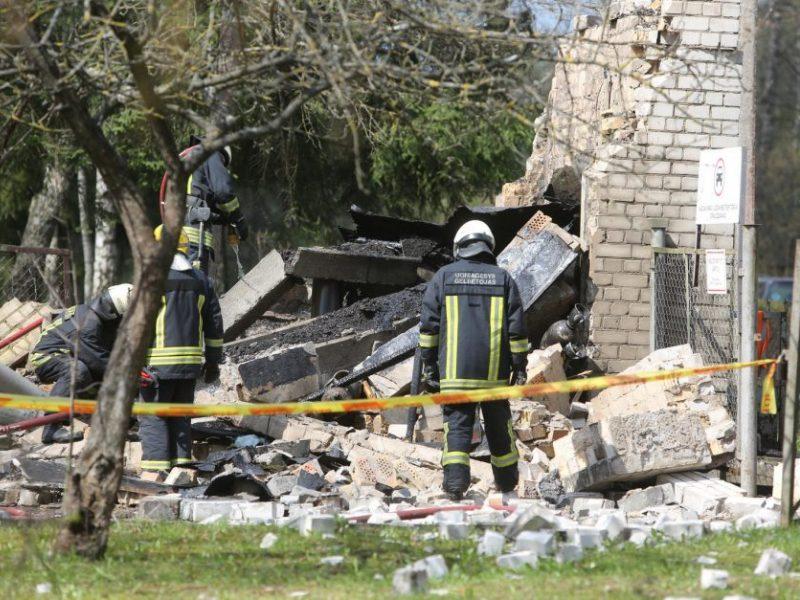 Sprogimas Kauno rajono gyventojos namuose vos nesibaigė tragedija