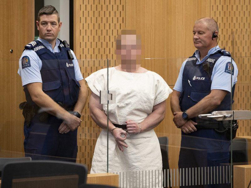 Kraupias žudynes Naujojoje Zelandijoje surengusiam ekstremistui pateikti kaltinimai