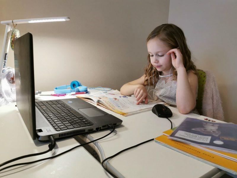 Nuotolinės pamokos – ne tik vaikų rykštė