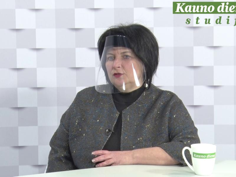 """""""Kauno dienos"""" studijoje – Metų kaunietės rinkimų finalistės: pokalbis su E. Targanskiene"""