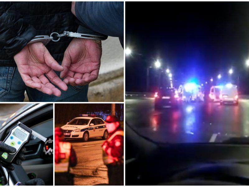 Girtas ir beteisis vairuotojas prisivirė košės: sukėlė avariją, spruko nuo pareigūnų