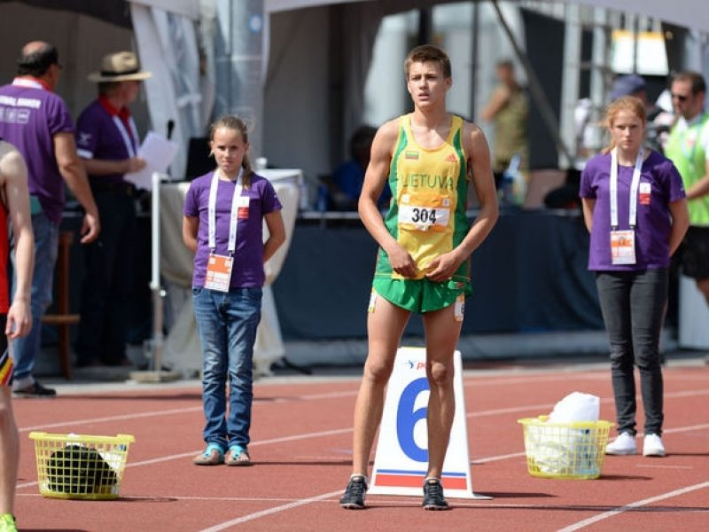 Bėgikas B. Mickus iškovojo pergalę Estijoje