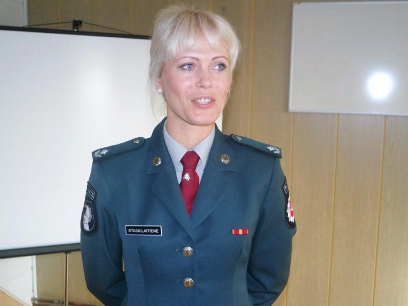 Rajone darbą pradeda nauja policijos komisariato vadovė