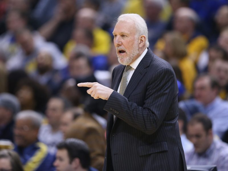 """""""Spurs"""" treneris iškovojo 1000-ąją pergalę NBA"""