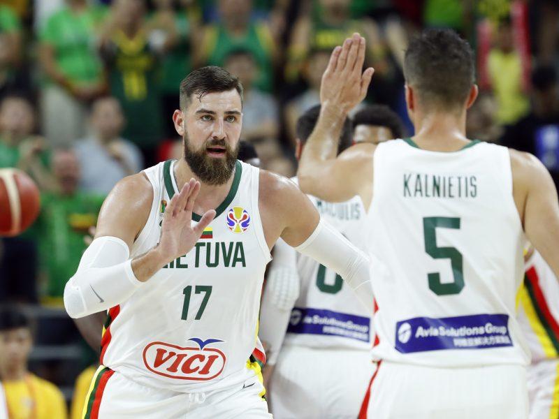 Lietuvos krepšinio rinktinė – kitame etape: įveikti Kanados krepšininkai