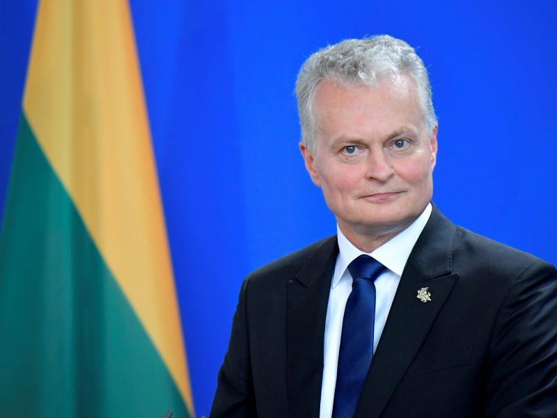 G. Nausėda susitiko su Vokietijos prezidentu aptarti saugumo klausimų