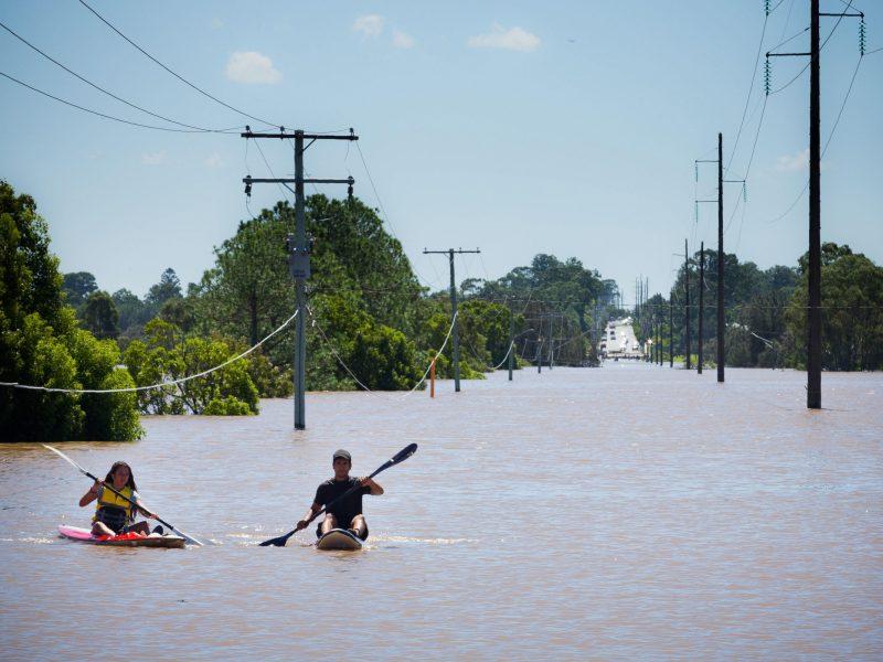 Šiaurės Australijoje kilo rekordiniai potvyniai