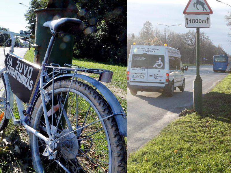 Kam užkliuvo Liepojos gatvėje stovėjęs dviratis?