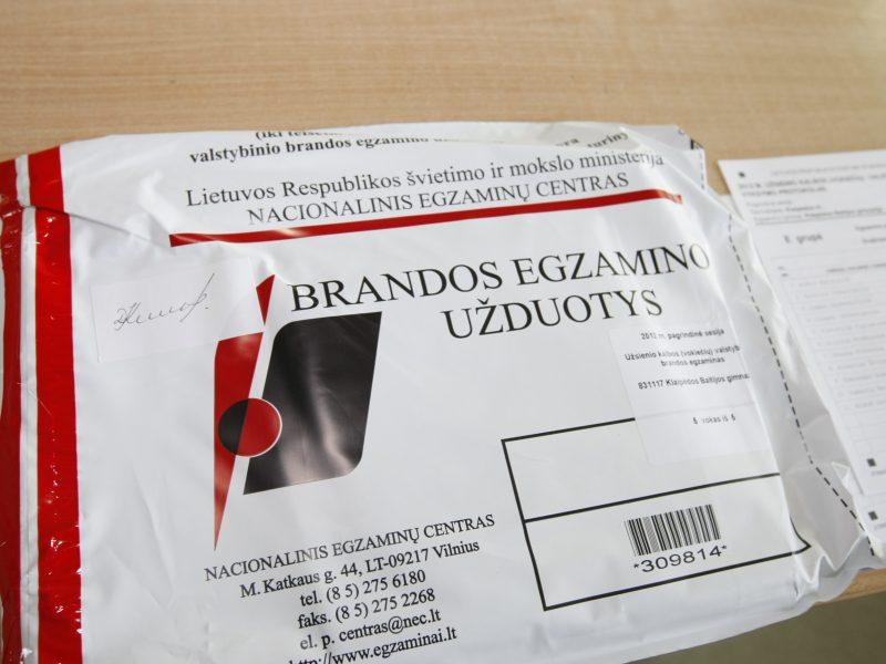 Vienoje Kauno gimnazijų iš egzaminų užderėjo net 80 šimtukų
