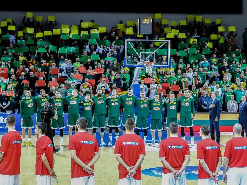 Krepšinio gerbėjams – specialūs auksiniai bilietai