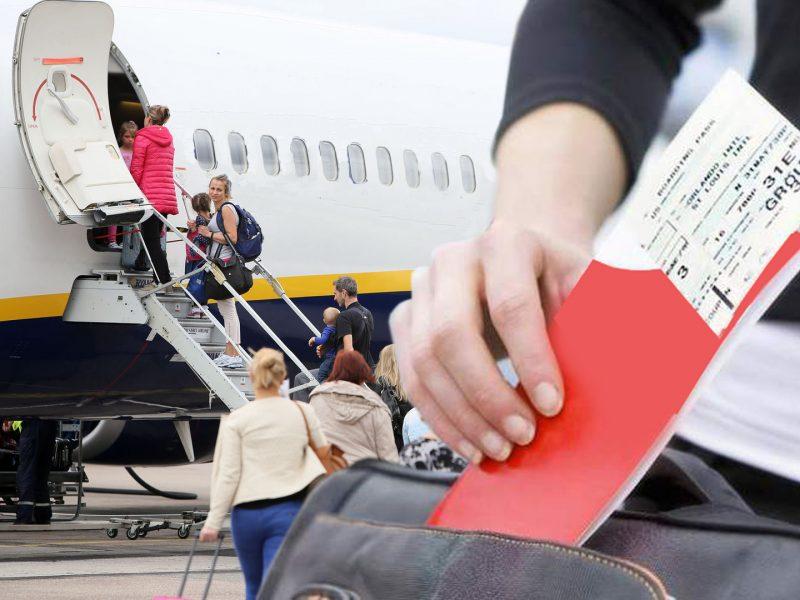 Paliekant šalį – milžiniškas mokestis oro uoste