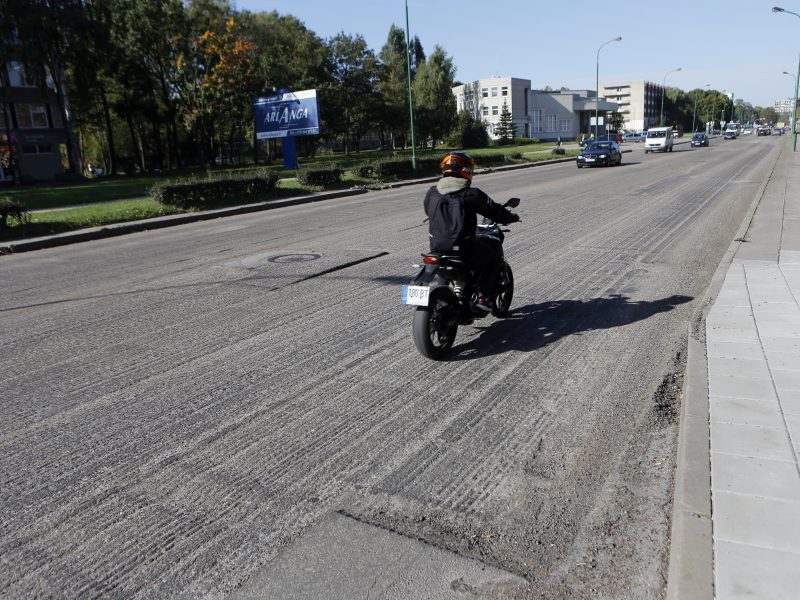 Vietoj asfalto Taikos prospekte – nežinia