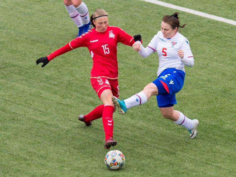 Lietuvos futbole – įspūdingas 15-metės talentės proveržis