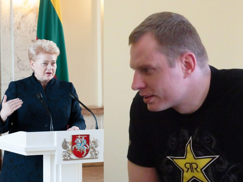 Chuliganas Prezidentės D. Grybauskaitės malonės nepateisino