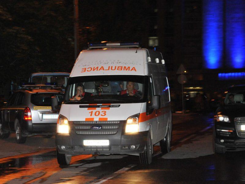 Prie Maskvos driokstelėjo sprogimas daugiabutyje