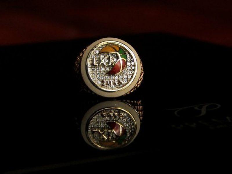 LKL čempionų žiedų gamyboje lygiuotasi į NBA