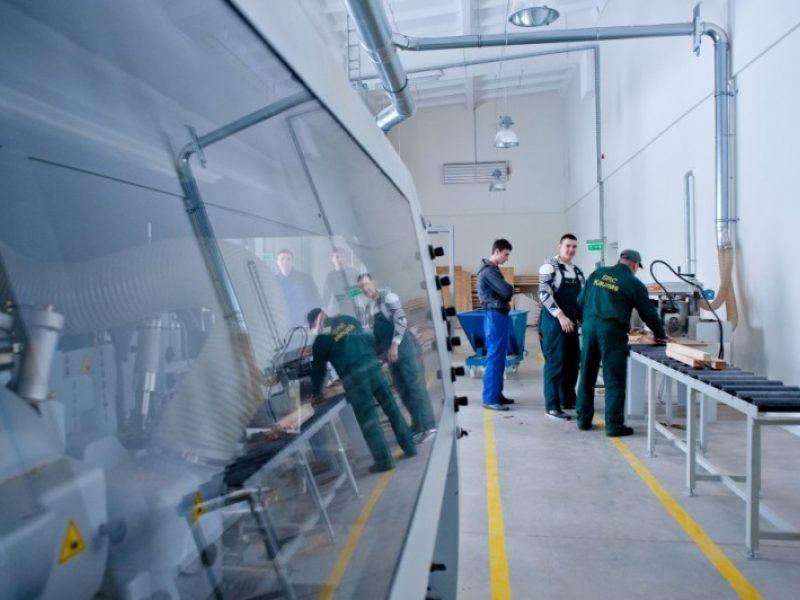 Kaune kuriama inžinerinių profesijų mokymo bazė