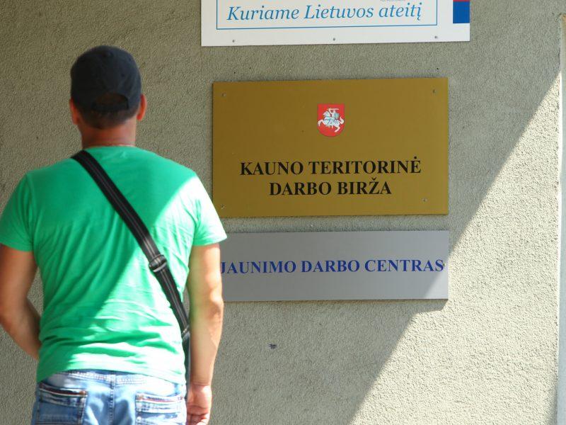Kauno regione bedarbių šiemet daugiau