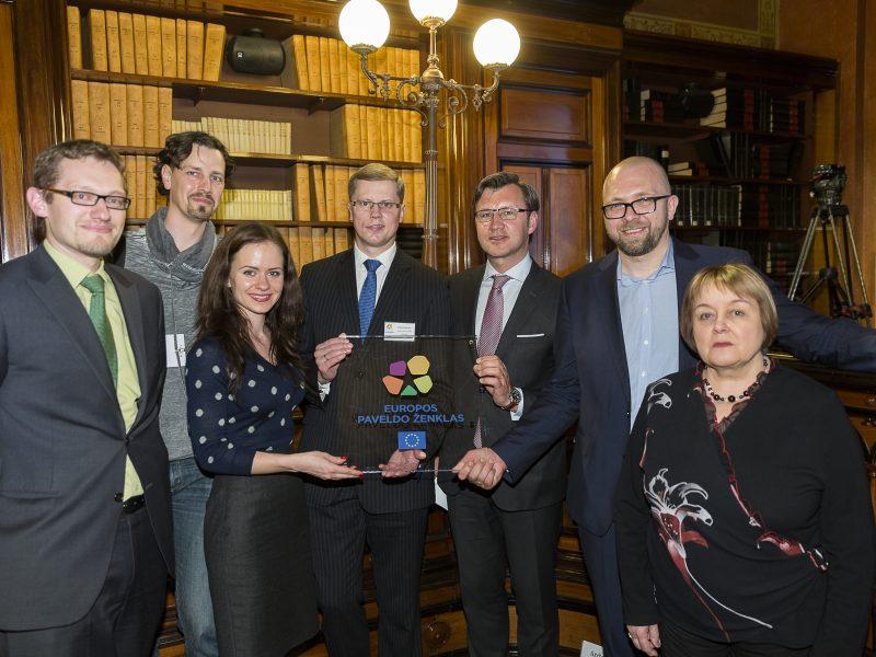 Kaunui oficialiai suteiktas Europos paveldo ženklas