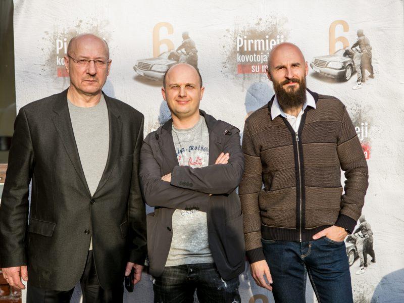 """Dailiaus Dargio dokumentinio filmo """"Pirmieji kovotojai su mafija"""" pristatymas"""