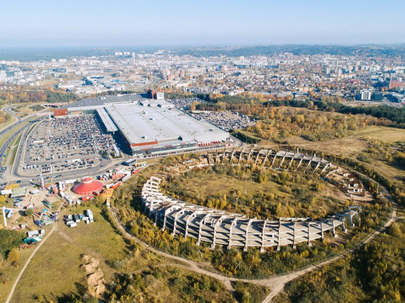 Iš Nacionalinio stadiono konkurso pašalintas antrasis dalyvis